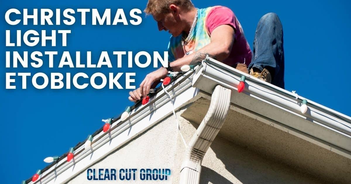 Christmas light installation burlington