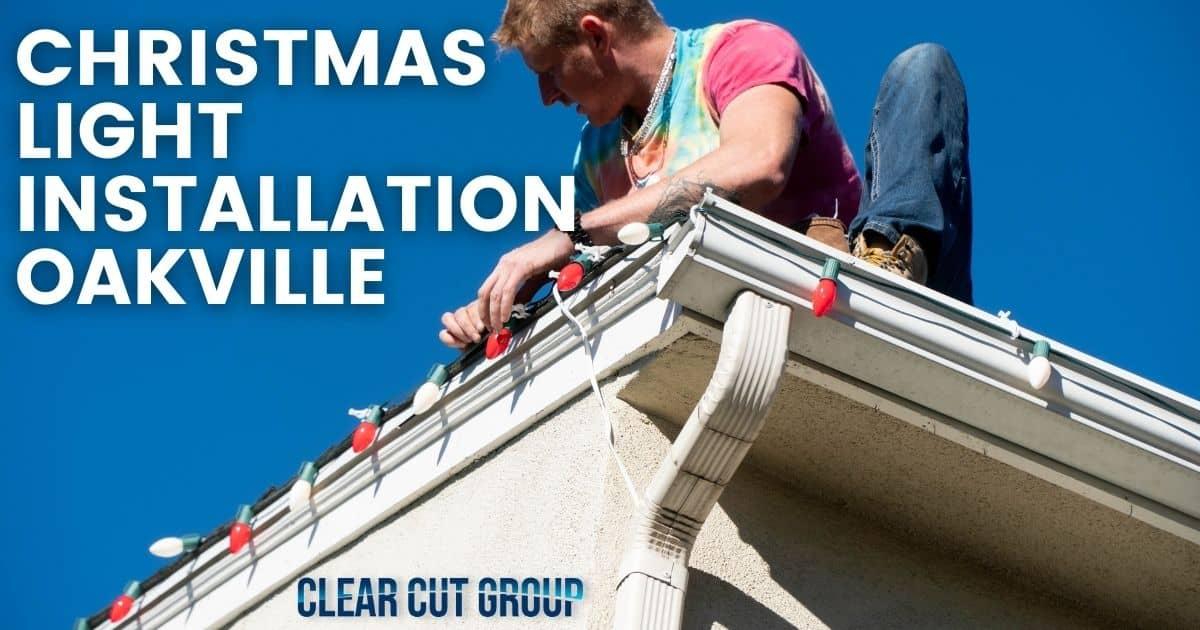 christmas light installation Oakville